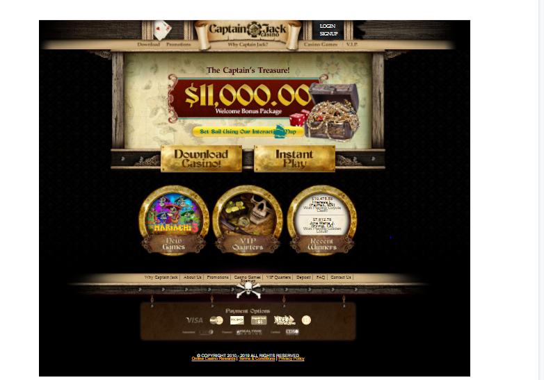 Captain JackS Casino